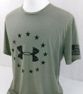 Under Armour Heatgear Freedom Wounded Warriors Project Logo T-Shirt Mens XL