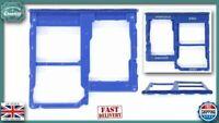 for Samsung Galaxy A40 A405F/DS Micro SD / Dual SIM Card Tray Holder BLUE