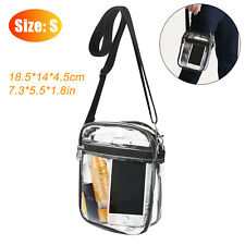 Clear Crossbody Purse Bag Stadium Security Approved Should Handbag Tote PVC Pack