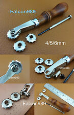 Leather Craft Sewing Over Stitch Wheel Marker Spacer Roulette Overstitcher Tool