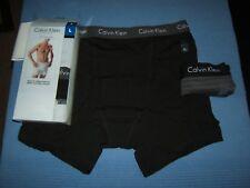 Lot of 3 Men's Calvin Klein Stretch Fly Boxer Briefs sz L NWT
