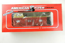 AMERICAN FLYER/Lionel S Scale 6-48712 1995 Christmas Bay Window Caboose~NIB~T139