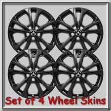 "Black 17"" Ford Escape Wheel Skins Hubcaps 2017-2019 Black Wheel Covers"