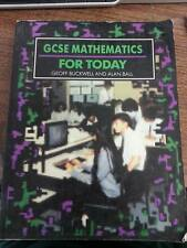 GENERAL CERTIFICATE OF SECONDARY EDUCATION MATHEMATICS FOR TODAY, G.D. BUCKWELL,