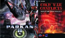 parkan 2 & cold war conflicts  new&sealed