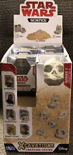 Lot of 8 Star Wars Science Xcavations Creature Crates Series 1 Sealed Disney