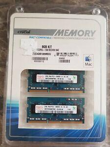 4GB (2 x 2GB) DDR3L-1333 SODIMM MAC