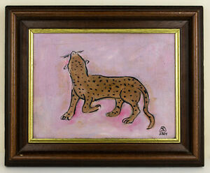 Chinese France SANYU 常玉 signed oil painting framed Chang Yu