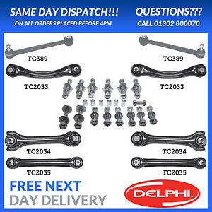 OE QUALITY DELPHI FOR MERCEDES SL R129 REAR SUSPENSION ARM KIT 89-01
