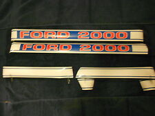 FORD Decal Set  for Ford Tractor 2000