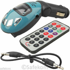 AUTO Accendisigari Presa mp3 Player si connette al sistema audio per auto W REMOTE