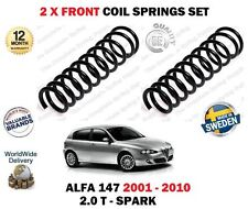 FOR ALFA ROMEO 2.0 T SPARK 2001-2010 NEW 2X FRONT LEFT + RIGHT COIL SPRINGS SET