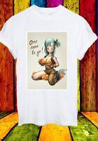 Dragon Ball Sexy Bulma One More To GO Anime Manga Men Women Unisex T-shirt 760