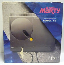 CONSOLE FUJITSU FM TOWNS MARTY 2 MODEL FMMARTY-2 BOXED RARO IMPORT NTSC JAPAN