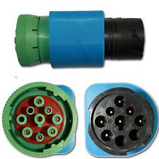 Grandview Black 9 pin to Green 9 pin J1939 CAN500 Converter