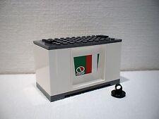 LEGO® Eisenbahn Container weiß für 3677, 7898, 7938, 7939 - City - NEU 6