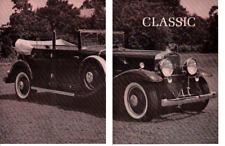 1930 CADILLAC V-16 ~ ORIGINAL 6-VIEWABLE PAGE 1961 ARTICLE / AD