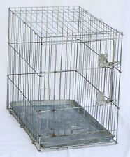 """Wire Pet Cage - 26.5"""" long x 17.5"""" wide x 24"""" high @ 15 pounds"""