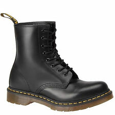 Dr. Martens 1460 Womens 11821006 Black Smooth Leather 8 Eyelet BOOTS Size 6