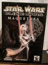 Star Wars Gentle Giant Statue Asajj Ventress Clone Wars BROKEN MIB Ltd 203/2500