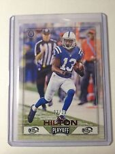 2016 Panini Playoff Football 3rd Down #81 TY Hilton SSP #3/25 Indianapolis Colts