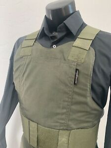 Safariland Concealable BULLETPROOF vest FREE Ballistic Inserts Body Armor 3a