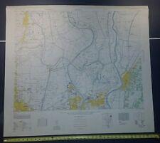 Matsudo 1946 US Army Map - Tokyo; Honshu Japan 1:12,500 WW II vintage military