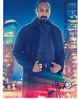 JESSE L MARTIN SIGNED 8X10 PHOTO AUTHENTIC AUTOGRAPH CW THE FLASH COA