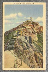 Vintage 1941 Linen Postcard: Whiteface Memorial Highway--161 Lake Placid NY