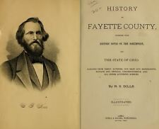 1881 FAYETTE County Ohio OH, History and Genealogy Ancestry Family Tree DVD B14