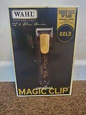Wahl Professional  5-Star Series Cordless Magic Clip Clipper Black & Gold