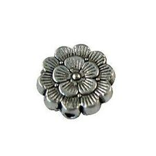 35 Tibetan silver detailed flower spacer beads ZM1450