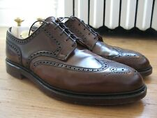 Crockett & Jones Ralph Lauren Marlow Cigar Brown Shell Cordovan Size 12 D Shoes