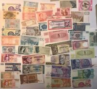 50 x MIXED WORLD BANK NOTES ALL DIFFERENT AND ALL UNC