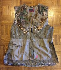 Women's Game Winner Hunting Vest Camoflage Size XL/2XL EUC