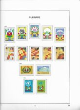 1985 MNH Republiek Suriname year collection according to DAVO