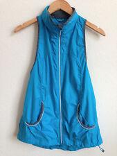 Lululemon Vest Aqua Blue Reflective size 6 ?