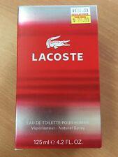 """Lacoste """" Lacoste pour homme """" eau de toilette for men 125ml"""