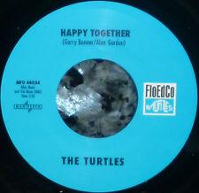 "*<* SALE! TURTLES SMASH HIT ""HAPPY TOGETHER"": UNPLAYED MINT FloEdCo 45/sleeve!!!"