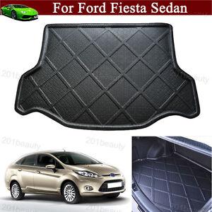 Car Mat Cargo Liner Trunk Liner Tray Floor Mat for Ford Fiesta Sedan 2009-2021