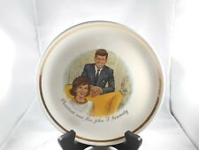 President And Mrs. John F. Kennedy Collector Plate