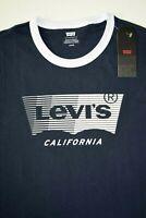 New Navy Levi's Men's T-Shirt: 596650002