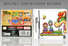 MARIO AND LUIGI BOWSER'S INSIDE STORY. ENGLISH. COVER + ORIGINAL BOX. (NO GAME).