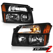 2002-2006 Chevy Avalanche 1500 2500 [BODY CLADDING MODEL] Headlights Bumper Lamp