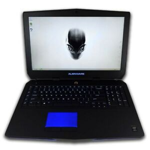 ALIENWARE 17 17.3in Gaming Laptop 3.4Ghz 32GB 1TB SSD DVDRW GTX 765 WIN 7