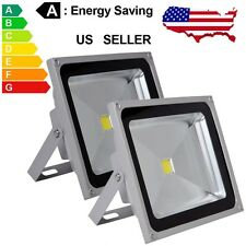 2pcs 50W LED Flood light Cool White Outdoor Landscape 85-265V Lamp  IP65
