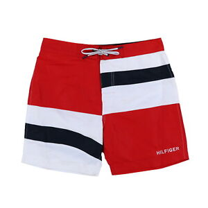 Tommy Hilfiger Mens Board Shorts Swim Bottoms Bathing Suit 6.5 Inch Trunks New