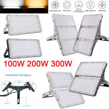 100W 200W 300W Led Flood Light Garden Outdoor Lamp Spotlight Floodlight Ip65