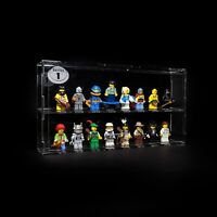 Collectable LEGO Minifigure Series 1-18 acrylic display case CMF