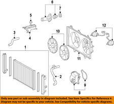 TOYOTA OEM-Radiator Coolant Overflow Tank Recovery Bottle 1648028080